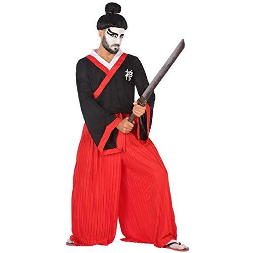Atosa-53872 Disfraz Japons, Color Rojo, M-L (53872)