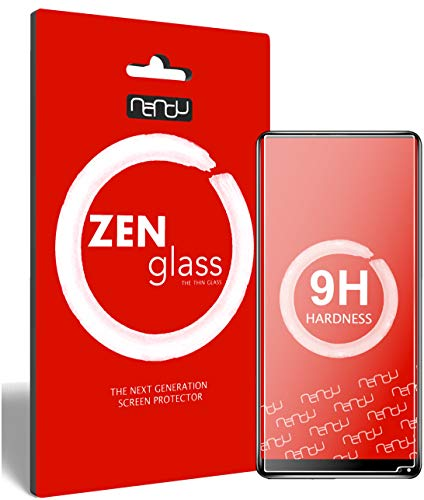 ZenGlass Flexible Glas-Folie kompatibel mit Oukitel Mix 2 Panzerfolie I Bildschirm-Schutzfolie 9H I (Kleiner Als Das Gewölbte Bildschirm)