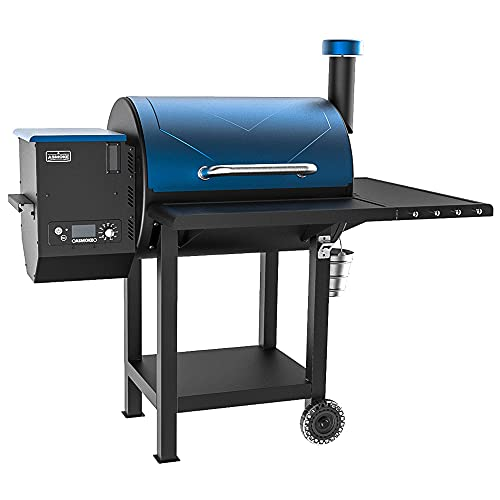 ASMOKE AS660N-1 Electric Wood Fired Pellet Grill and Smoker 700 sq in, Pack of 5 BBQ Kit, Safe...