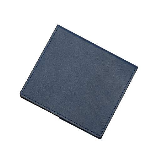 薄いマネークリップ abrAsus(アブラサス)ブッテーロ レザー エディション ブルー