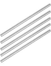 5 piezas 4100‑0006‑150 herramientas de torno de varilla redonda de eje redondo de acero inoxidable 6 x 150 mm Φ6 mm compatibles para la fabricación industrial de robots LEGO/TETRIX