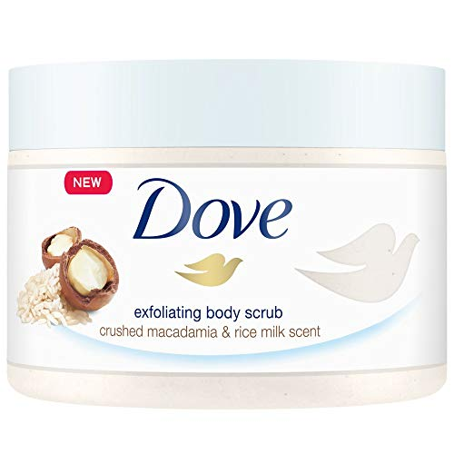 Dove Crème-douche-peeling granaatappel en sheaboter, 225 ml