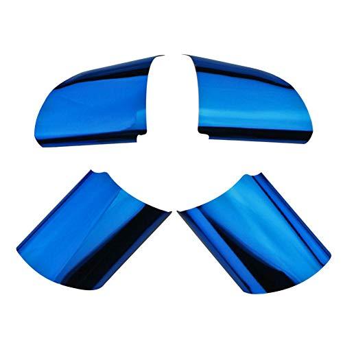 gipoiSD Accesorios de diseño de Coche, Cubierta de Volante, Ajuste de Lentejuelas, para Ford Focus 2 MK2 2005-2011
