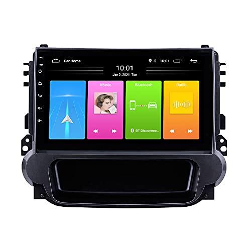 Kilcvt Navegación GPS, 9 Pulgadas/Android 10 Unidad Principal Reproductor Estéreo De Radio De Coche, para Chevrolet Malibu 2012-2015 Soporte Control del Volante/WiFi/USB/Bluetooth,4g+WiFi 2g+32g