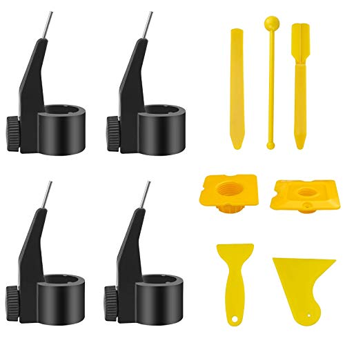 4 Uds selladores de lechada de baldosas de cerámica boquilla auxiliar posicionador fijo localizador de belleza reutilizable agente de construcción para reparación de relleno de costuras