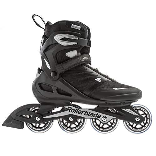 Rollerblade Unisex– Erwachsene ZETRABLADE Inline-Skate, SCHWARZ/Silber, 295