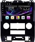 LYHY Android 10.0 Radio de navegación GPS para Ford Escape 2007-2012 Navegación GPS Unidad Principal de 9 Pulgadas Pantalla táctil HD Reproductor Multimedia Video MP5 con WiFi DSP SWC MirrorLink