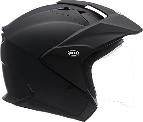 Bell Mag-9 Open Face Motorcycle Helmet (Solid Matte Black, XX-Large)