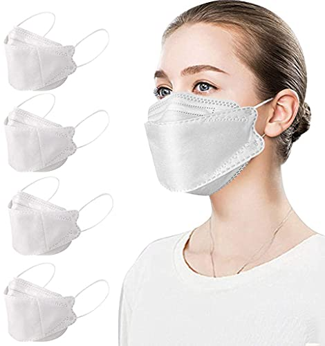 Pack of 50 High Specification ._Fàce Mẵsk. for Adults Coronàvịrụs Protectịon 4-Ply Filtеr Fàce Protection
