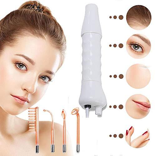 QIYE Tragbare Hochfrequenz Hautstraffung, Körperpflege, Gesichtsmassagegerät, Haarausfall, Faltenreduzierung, für Körper und Gesicht Kosmetisches Gerät