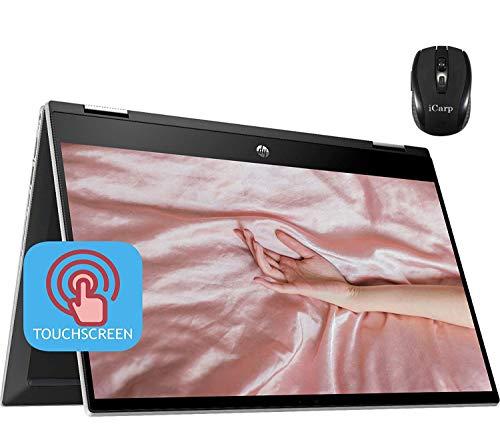 2020 Latest HP Pavilion X360 2 in 1 Laptop 14'HD Touchscreen 10th Gen Intel Core i3-1005G1 (Beats...