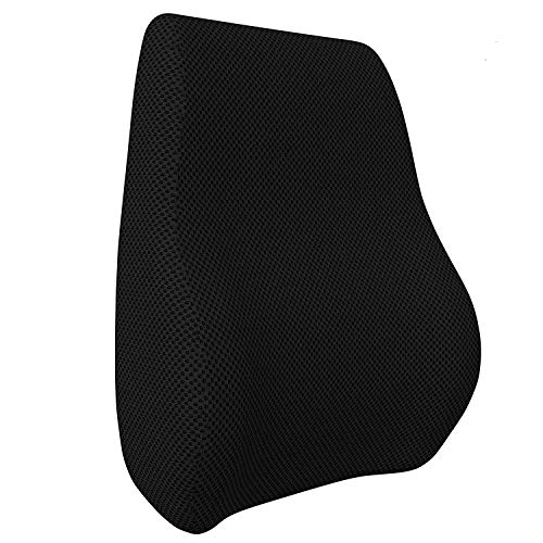 MOJOREST Backrest for Back Support. Pillow for Office Chair and Car Seat, Comfortable Lumbar Cushion for Back Pain Relief