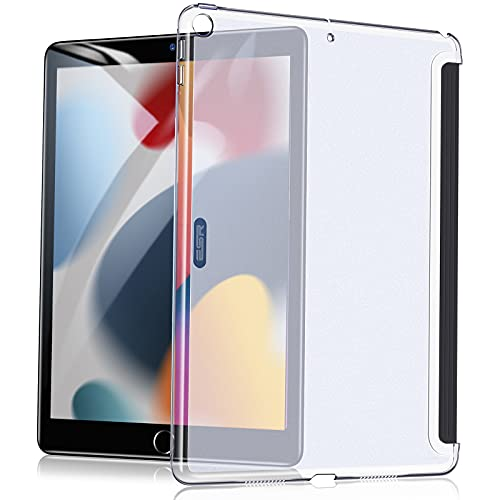 ESR Klare Hülle Rückseite Kompatibel mit iPad 9. Generation 2021, 8. Generation 2020, 7. Generation 2019, Klare Rücken Hülle, Unterstützt Smart Keyboard & Smart Cover, Transparent