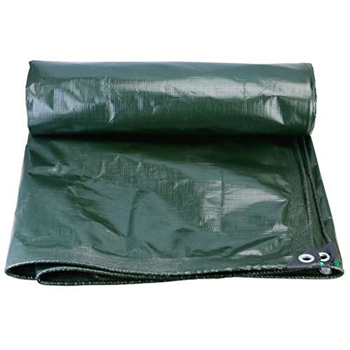 TRNCEE Waterdicht Dekzeil 180g/m2 - Verdikt PE-materiaal Outdoor Zonnescherm Waterdichte Luifel, Meldauwbestendig, Corrosiebestendig en UV-bestendig Dekzeil 3x3m (10ft x 10ft)