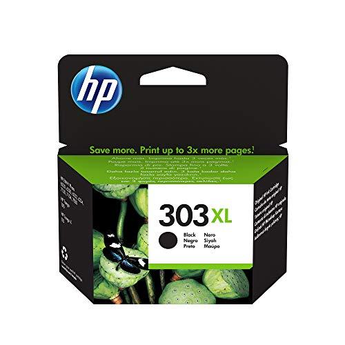 HP 303XL T6N04AE, Negro, Cartucho de Tinta de Alta Capacidad, compatible con impresoras de inyección de tinta HP Tango,Tango X, HP Envy 6220, 6230, 6232, 6234, 7130, 7134, 7830