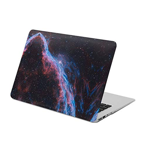 MacBook Air 13 inch Case 2020 2019 2018 Release A2179 A1932,Space Nebula,Plastic Hard Shell with Keyboard Brush, Only Compatible with MacBook Air 13 inch