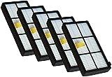 Piezas de repuesto para aspiradora Kit de filtro de pila de 5...