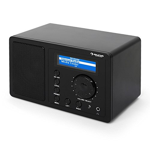AUNA IR-130 BK - Radio de Internet, WLAN, Radio Digital, Alt