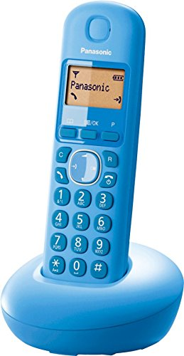 Panasonic KXTGB210 Blue Single DECT Digital Cordless Telephone KX-TGB210 New