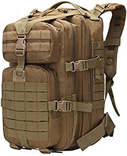 NANANANA 50L Tactical Mochila Militar Ejército Molle Mochilas 3P EDC Asalto al aire libre Camping Trekking Caza gran capacidad camuflaje bolsa
