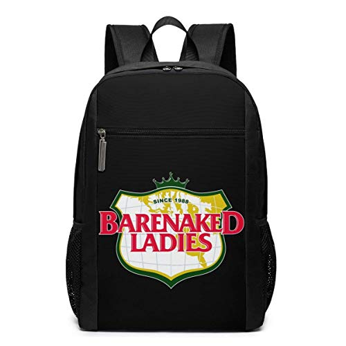 Lawenp Barenaked Ladies Backpack 17 Inch Laptop Bags College School Backpack Casual Daypack for Travel