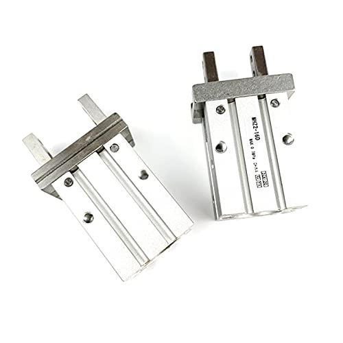 NICEDINING SMC Type MHZ2 Doble actuación Air Pneumatic Gripper MHZ2-10D MHZ2-16D 20D 25D 32D 40D Abrazadera de Aluminio Cilindro Dedo (Color : MHZ2 16D)