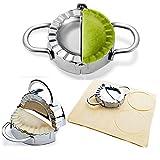 BellaBetty Dumpling Maker - Dumpling Press/Stainless Steel Empanada Press/Pie Ravioli Dumpling...