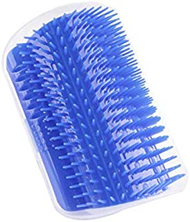 Mumoo Bear Pet Comb For Cat Accessories Self Groomer Brush Hair Remover Products For Cat Brush Self Massage Corner Wall Co...