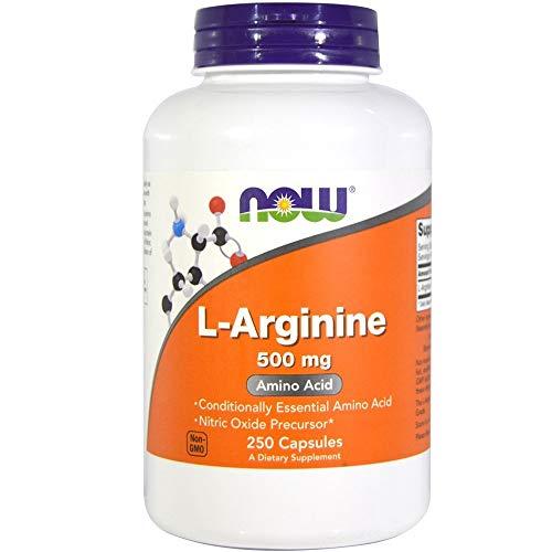 Now Foods L-Arginine (500mg) - 250 ct (Pack of 2)