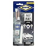 BOSTIK Fast Fix2 Liquid Power colle bicomponenti super forte e rapida, pronta all'uso, per materiali rigidi 10g trasparente