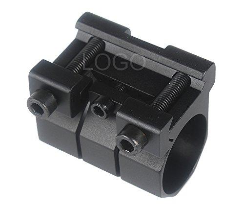 Blackr Y002 Support de Lampe de Poche Optique en métal Durable pour Lampe Torche