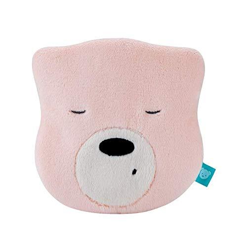myHummy Einschlafhilfe Baby Bär Mini Rosa | White Noise Baby Einschlafhilfe Kinder zur Baby Beruhigung | My hummy Mini Einschlafhilfe Babys mit sanftem Ausklingen nach 1 Stunde
