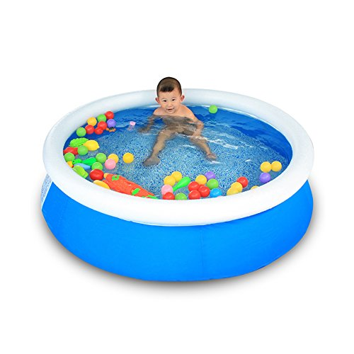 TIDLT Enfant Gonflable Piscine Boule Marine Piscine Pataugeoire Famille Piscine Air baignoires