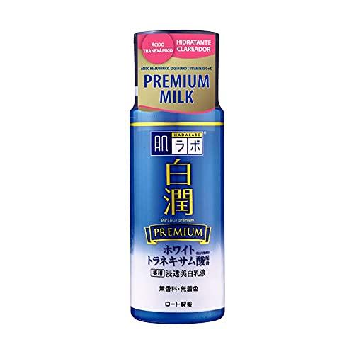 Shirojyun Premium Milk - Hidratante Facial Clareador com Ácido Tranexâmico 140ml, Hada Labo