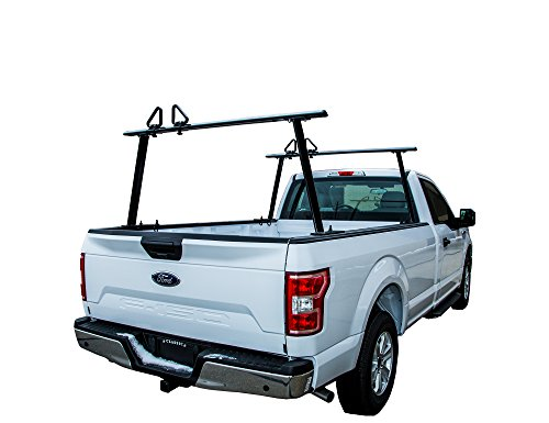 Buyers Products 1501680 Black Aluminum Truck Rack, 1 Pack