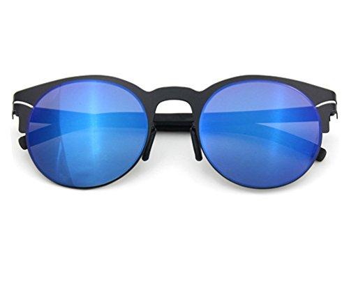 Tansle Damen Sonnenbrille Blau Schwarz/Blau