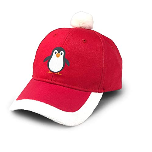 SYDIYIWL Niedliche Weihnachtsmütze mit Pinguin-Motiv, Weihnachtsmannmützen für Weihnachten, Kostüm, Party-Dekoration
