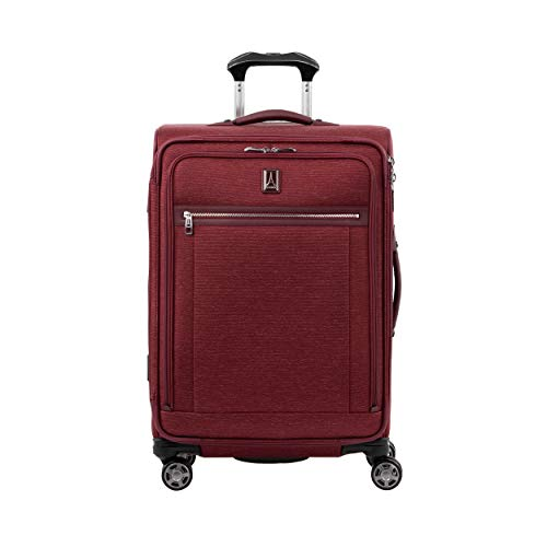 Travelpro Platinum Elite Large Softside Spinner Suitcase 4 Wheels 71x47x30 cm Expandable and Durable 97 Litres Magnetic Swivel Wheels Travel Luggage 10 Years Warranty