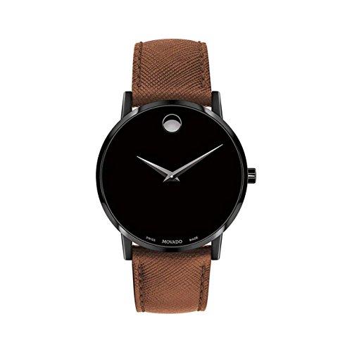 Movado Museum Classic Reloj de Hombre Cuarzo 40mm Correa de Cuero 0607198