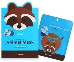 Berrisom Raccoon Animal Mask Set 7 Pieces