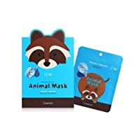 berrisom Raccoon Animal Mask Set 7 Pieces/ベリーサム ラクーン(アライグマ) アニマルマスク 7枚セット
