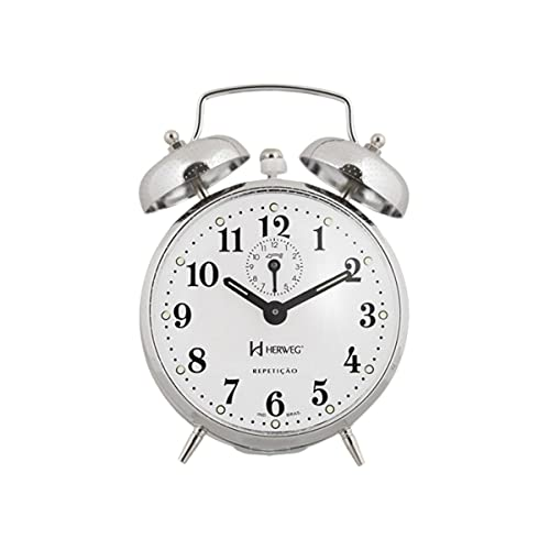 Despertador Mecânico Herweg Ref: 2370-207