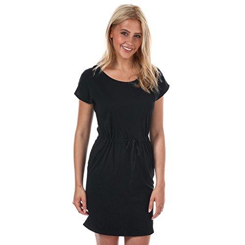 VERO MODA Damen VMAPRIL SS Short Dress GA NOOS Kleid, Schwarz (Black Black), 40 (Herstellergröße: L)
