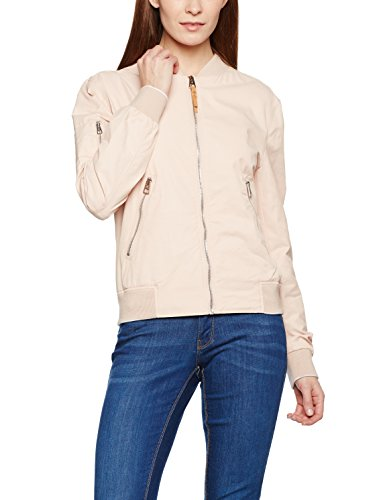Marc O'Polo Damen Jacke 702109470111, Beige (Rose Skin 708), 44