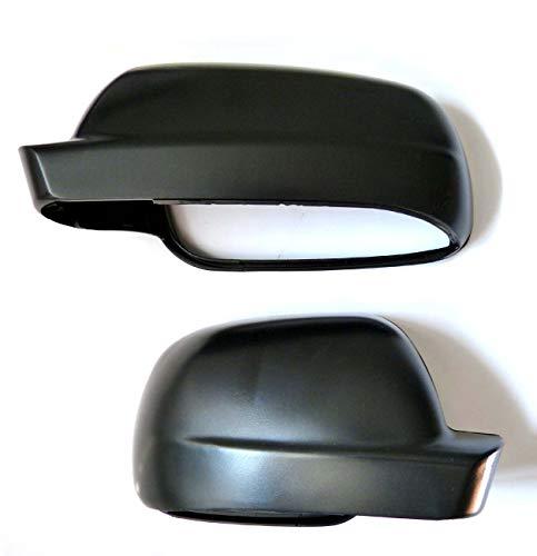 Set Spiegelkappen rechts und links schwarz passend für Golf 4 Passat Ibiza Toledo neu