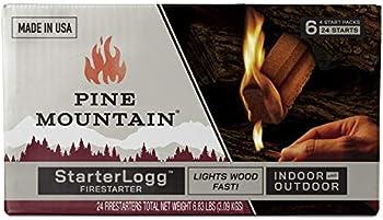 24-Pack Pine Mountain StarterLogg Select-A-Size Firestarting Blocks