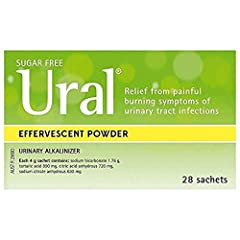 Ural helps reduce the risk of cystitis. Helps reduce adherence (such as E coli) to the urinary tract walls May assist in reducing urine odour associated with bladder weakness (incontinence).