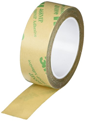 3M 3/4-5-468MP (CASE of 10) Adhesive Transfer Tape 468MP, 0.75