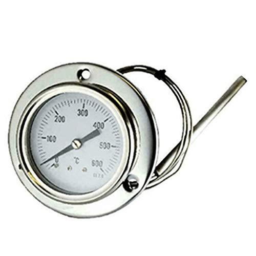 Hezhu 160CM Termometro da Forno con Sonda al Calore Fino per BBQ Cucina (600°C)