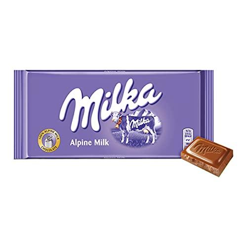 Chocolate Milka Alpine Alpenmilch 100 gr Importado Austria
